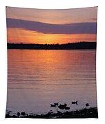 Spring Sunset Tapestry