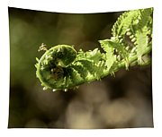 Spring Unfurled Fiddlehead Tapestry