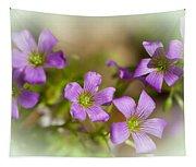 Spring Wildflowers Tapestry