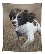 Springer Spaniel Painting Tapestry