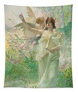 Springtime Allegory Tapestry