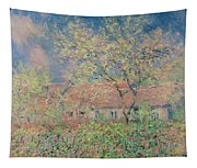 Springtime At Giverny Tapestry
