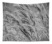 Springtime In The Field - Bw Tapestry