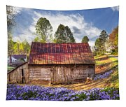 Springtime On The Farm Tapestry