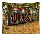 Squamish Train Wreck Tapestry