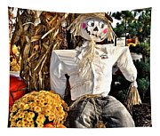 Square Scarecrow Tapestry