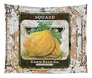 Squash On Vintage Tin Tapestry