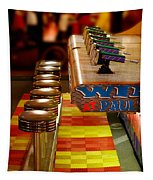 Squirt Gun Game Tapestry