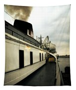 S.s. Badger Car Ferry Tapestry