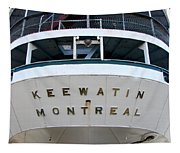 S.s. Keewatin Stern Tapestry