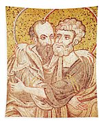 Saints Peter And Paul Embracing Tapestry