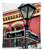 St. Ann And Chartres Nola  Tapestry