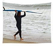 St Augustine Surfer Four Tapestry