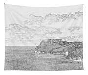 St Catherines Rock Tenby 2 Tapestry