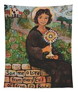 St. Clare Of Assisi Tapestry