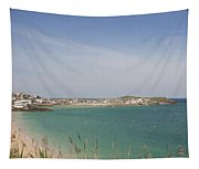St Ives From The Train Tapestry