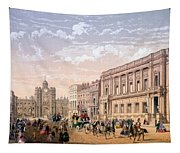 St James Palace And Conservative Club Tapestry