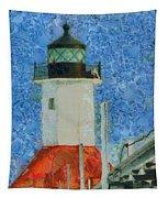 St. Joseph Lighthouse Lake Michigan Tapestry