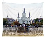 St Louis Cathedral Tapestry
