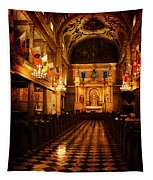 St. Louis Cathedral New Orleans - Textured Tapestry