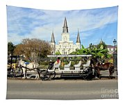 St Louis Cathedral New Orleans Tapestry