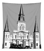 St Louis Cathedral Poster 1 Tapestry