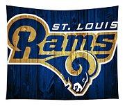 St. Louis Rams Barn Door Tapestry