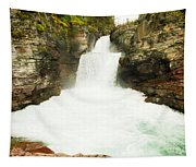 St Mary Falls Glacier National Park Tapestry