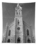 St. Mary's Of Port Washington  B-w Tapestry