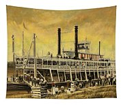 St. Paul Steamboat Tapestry