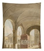 St. Pauls, Covent Garden C.1765-75 Graphite And Wc On Paper Tapestry