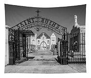 St Roch's Cemetery Bw Tapestry