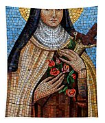 St. Theresa Mosaic Tapestry