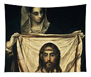 St Veronica With The Holy Shroud Tapestry