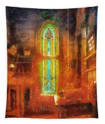Stained Glass 05 Photo Art Tapestry