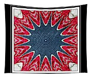 Stained Glass Lace - Kaleidoscope Tapestry