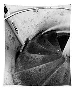 Stairs Leading Downward Into The Catacombs Of Paris France Tapestry