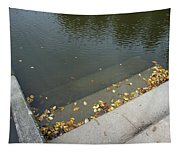 Stairs Leading Into Water Tapestry