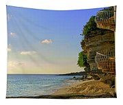 Stairway To The Sea Tapestry