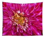 Standard Beautiful Dahlia Tapestry