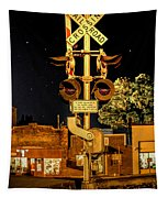 Standing Watch  Tapestry