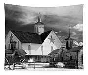 Star Barn Complex In Infrared Tapestry