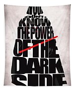 Star Wars Inspired Darth Vader Artwork Tapestry