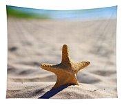 Starfish On The Beach Tapestry