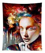 Stargirl I Bleed Color Tapestry