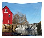 Starr's Mill In Senioa Georgia Tapestry