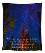 Stars Light Star Bright Fine Art Photography Prints And Inspirational Note Cards Tapestry
