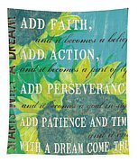Starts With A Dream Tapestry