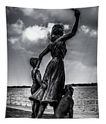 Statue St Clair Mi Tapestry