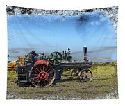 Steam Farming Tapestry